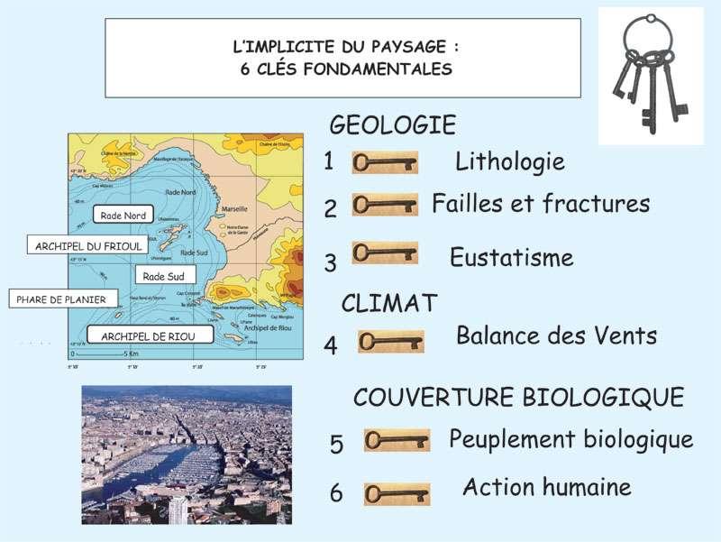 Figure 1 - Peuplements biologiques et produits de l'activité humaine dans la région marseillaise parachèvent le tableau 5. © J. Collina-Girard