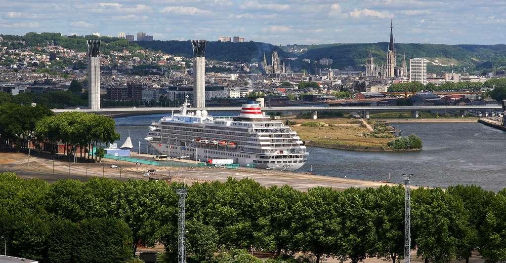 Le port de Rouen. © gasdub, Flickr, CC by-nc 2.0