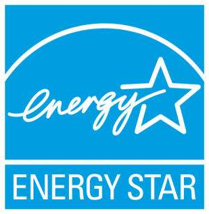 Le logo et le programme Energy star ont été mis en place par l'agence gouvernementale américaine de protection de l'environnement (EPA). Cet écolabel est attribué aux produits consommant moins d'énergie ou permettant des économies d'énergie (ordinateurs et périphériques). Crédit : Ademe