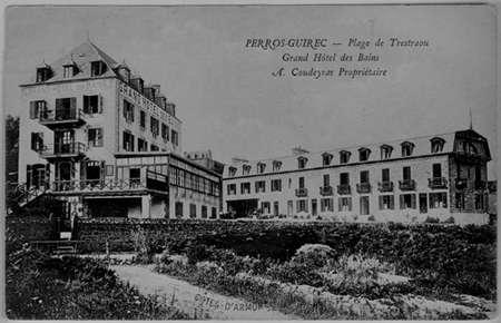 Perros-Guirec, Grand Hôtel des Bains, début du XXème siècle.