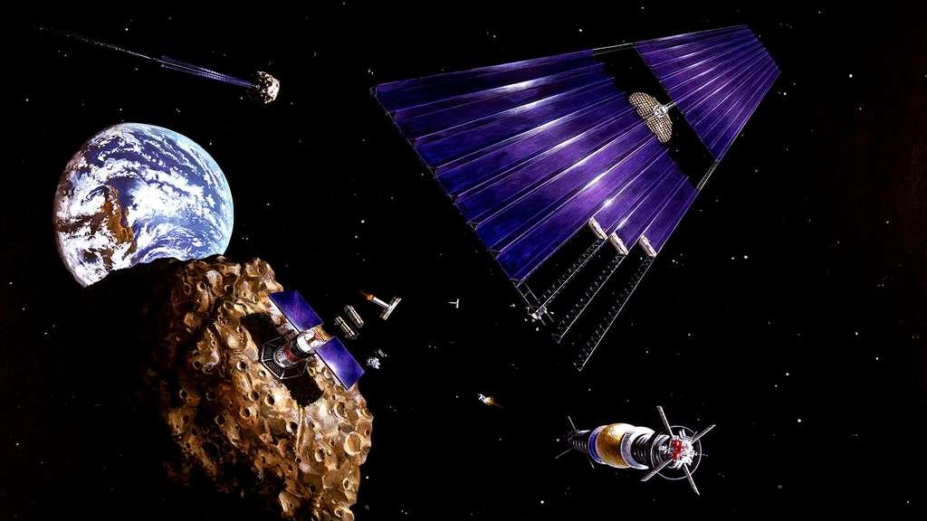 L'exploitation d'astéroïdes grâce à l'énergie solaire