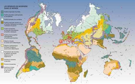Réserve de biosphère - Cliquez pour agrandir la carte