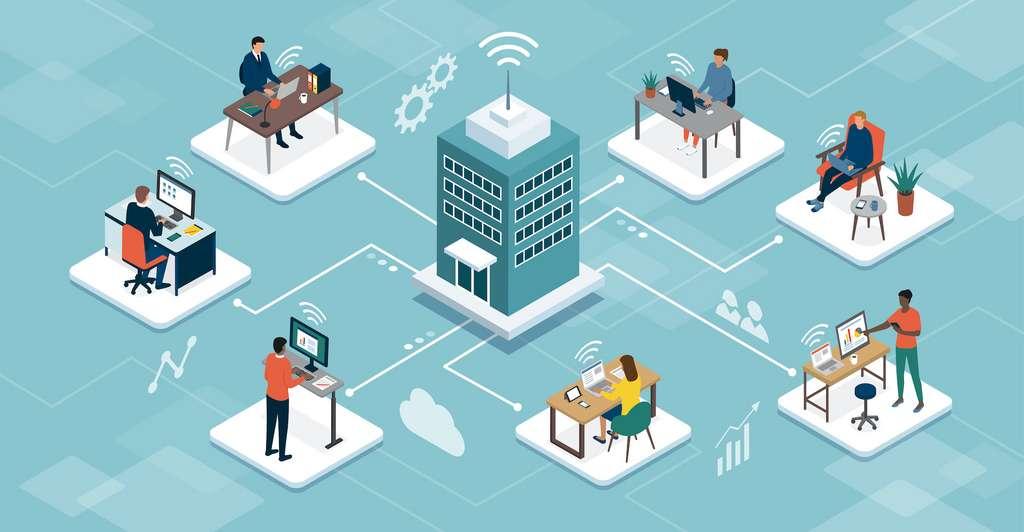 Le télétravail offre plus de flexibilité, mais ne doit pas se faire au détriment de la cohésion d'entreprise. © elenabsl, Adobe Stock