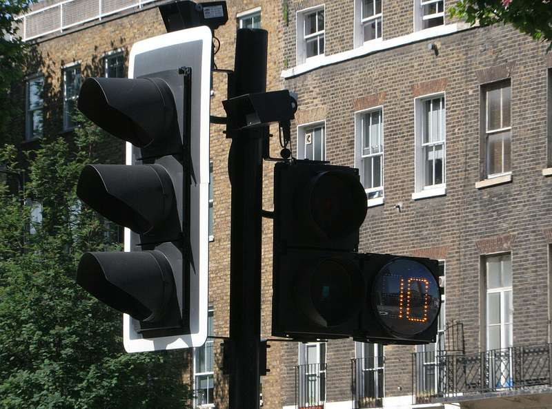 Londres utilise déjà un système de compte à rebours qui affiche le temps restant aux piétons pour traverser le passage protégé. © Transport for London