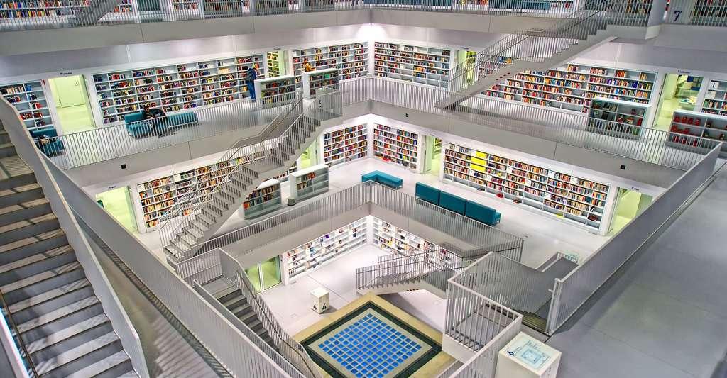 Bibliothèque Jedi. © 3093594, Pixabay, DP
