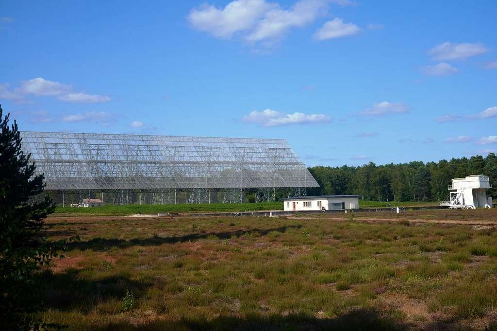 Le site de radioastronomie à Nançay. © CNRS