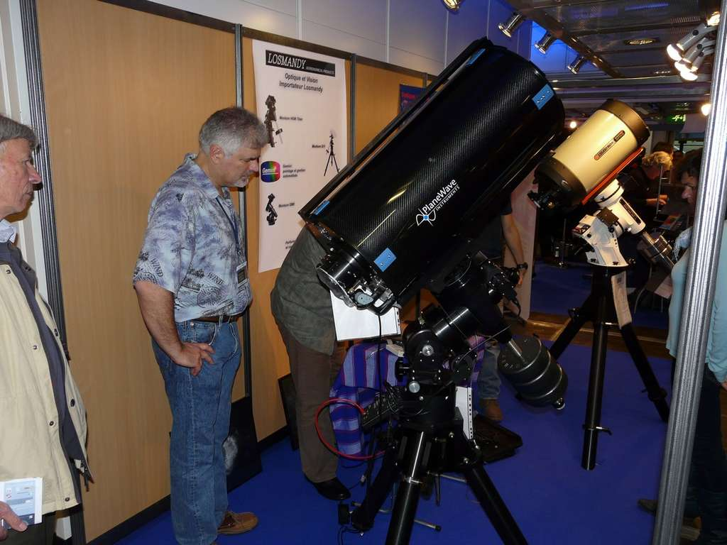 Télescope de type Schmidt-Cassegrain de 40 centimètres