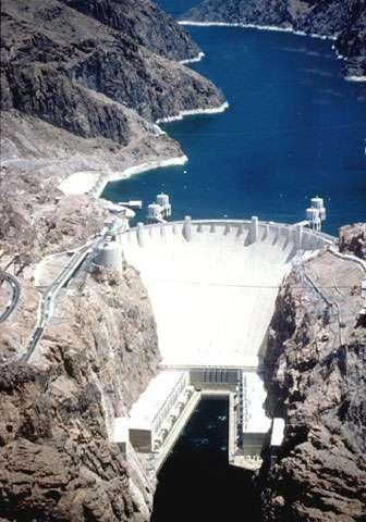 Le barrage Hoover. © DR