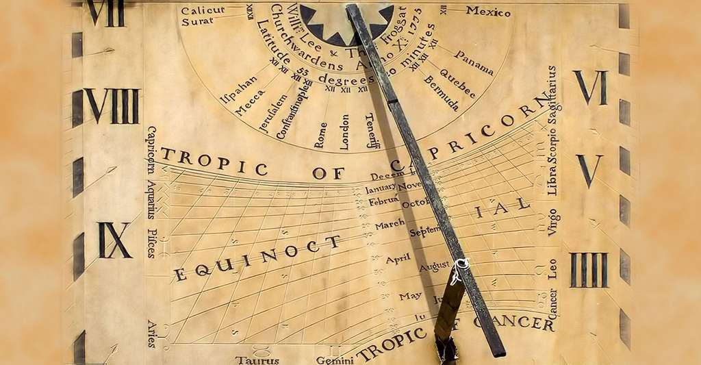 Comment lire un cadran solaire ? © Martin, CC by-nc 2.0