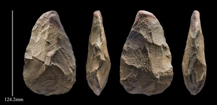 L'industrie lithique a permis de différencier des groupes humains en Arabie saoudite au cours du Paléolithique. © Palaeodeserts Project, Ian Cartwright