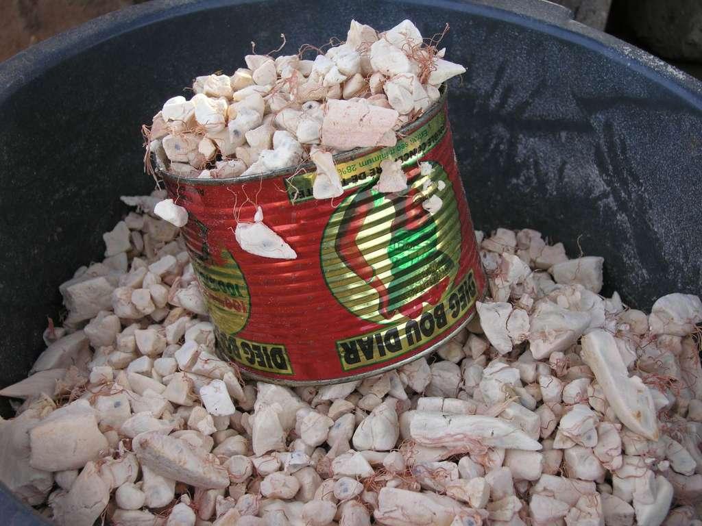 Le pain de singe, la pulpe du fruit de baobab