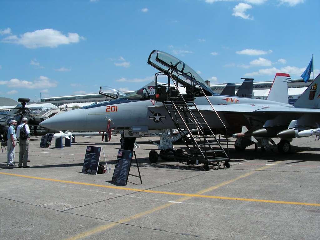 F/A-18E Super Hornet - Les avions exposés au Salon du Bourget