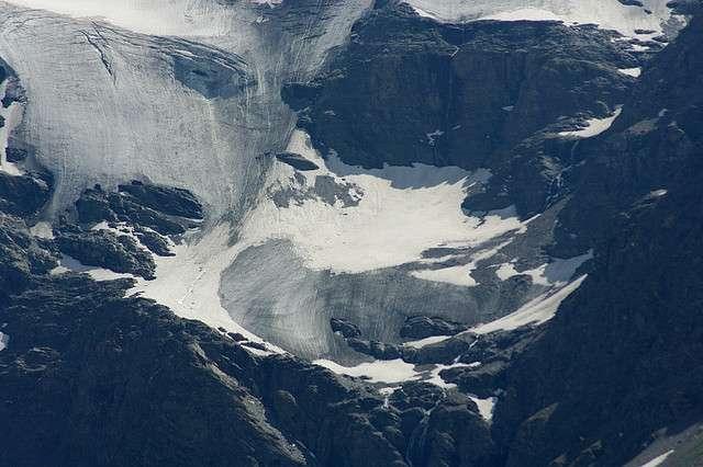 Glacier sur l'Albaron, dans les Alpes, en Savoie. © genevieveromier, Flickr, cc by 2.0