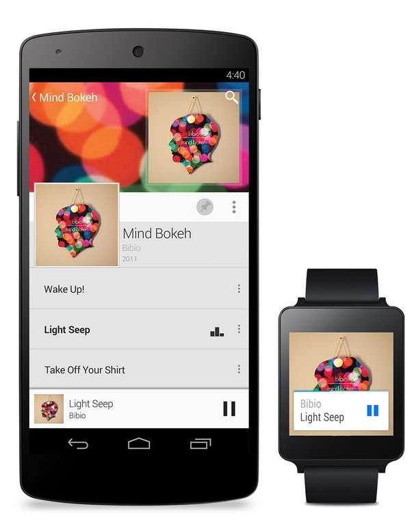 Google veut interconnecter tout ce qui est mobile grâce à Android, démultiplié pour plusieurs familles de machines « smarts ». © Google