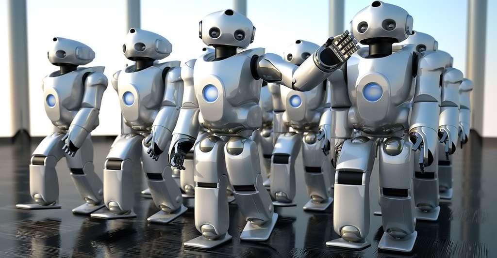 Le Sony Dream Robot (SDR). © Sony, SDR-4X