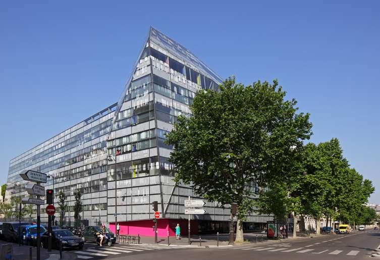 L'Institut Image à Paris, dans le 15e arrondissement, un projet conçu par Jean Nouvel et Bernard Valéro. © Courtesy of Institut Imagine