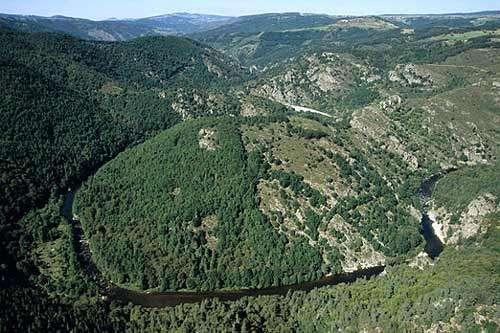 Le Haut Allier à Alleyras, 43 © LN-CEPA-MC Reproduction interdite sans autorisation de l'auteur