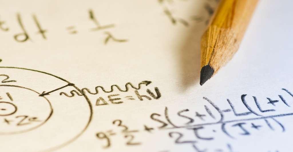 Les mathématiques constituent littéralement les bases de toute théorie physique. Mais lorsque les équations deviennent trop compliquées, même les physiciens les plus aguerris peuvent avoir du mal à les appréhender. © Ahuli Labutin, Shutterstock