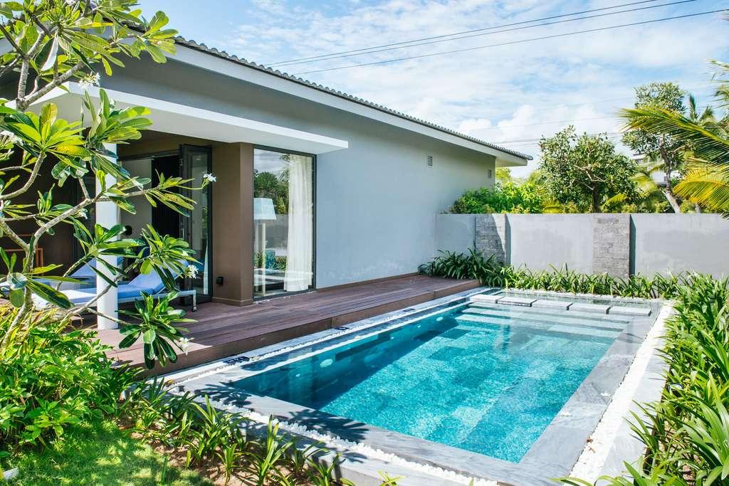 Exemple de piscine sur terrasse © makistock, Adobe Stock