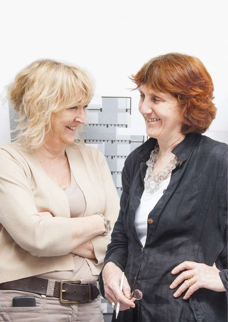 Yvonne Farrell et Shelley McNamara, lauréates du prix Pritzker 2020. © Courtesy of The Pritzker Architecture Prize