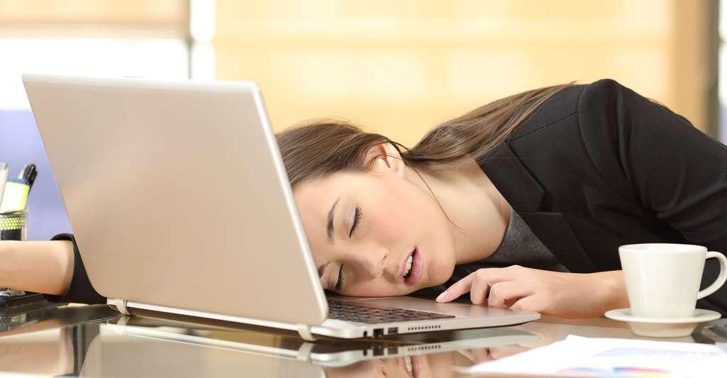 La narcolepsie est un trouble du sommeil très handicapant. © Antonio Guillem, Shutterstock