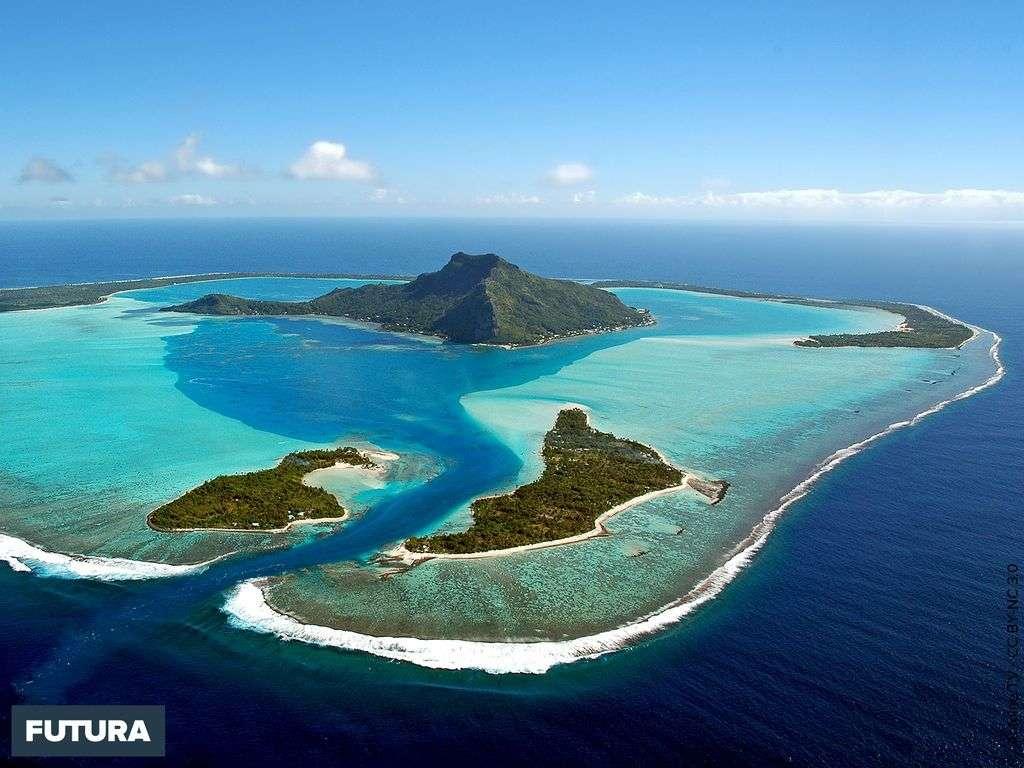 Maupiti, île faisant partie des îles Sous-le-Vent