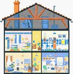 La maison, grosse consommatrice d'eau, d'électricité, d'énergie...