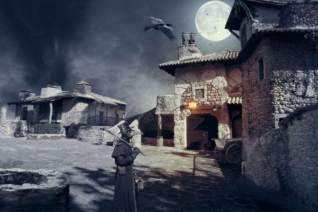 Au milieu du XIVe siècle, la peste noire a fait des millions de victimes en Europe. © Viktor, Adobe Stock