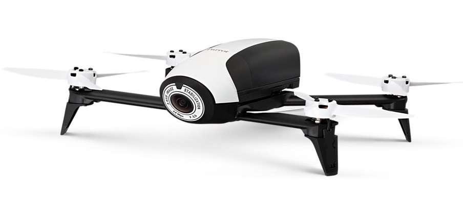 À terme, cette « boussole » inspirée des fourmis pourrait équiper des drones pour leur permettre de revenir à leur base sans la moindre puce GPS © Parrot