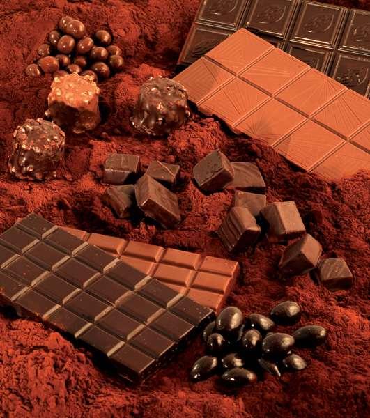Produits chocolatés. © J. Weber