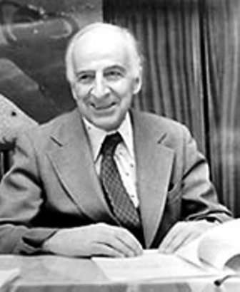 Le physicien Bruno Pontecorvo, un ancien élève de Fermi, un des pères de la théorie du neutrino. Crédit : Samoil Bilenky-John Bahcall