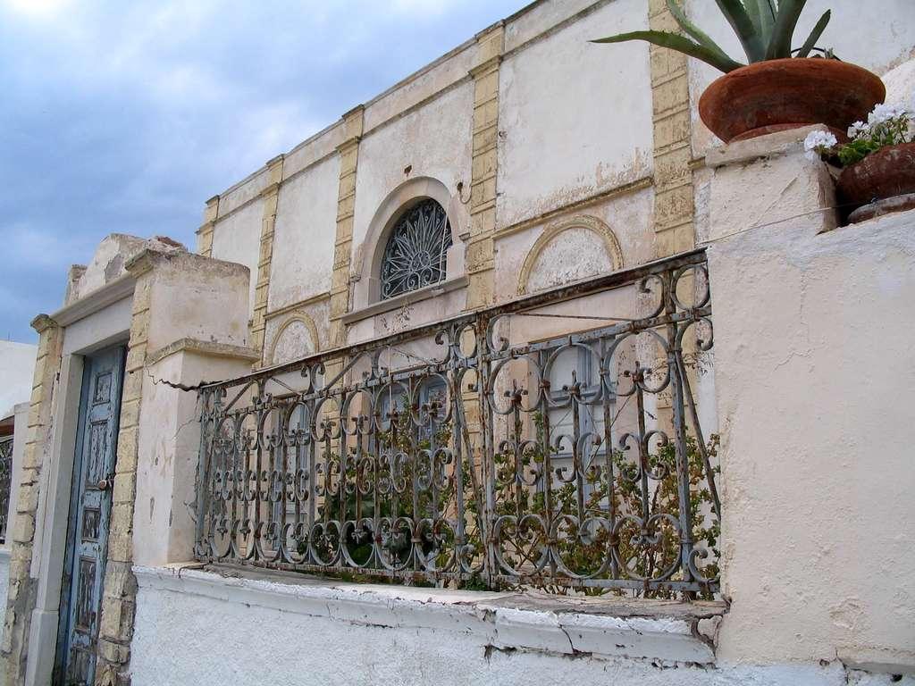 Vieille maison, à Oia (Santorin). © Claire König
