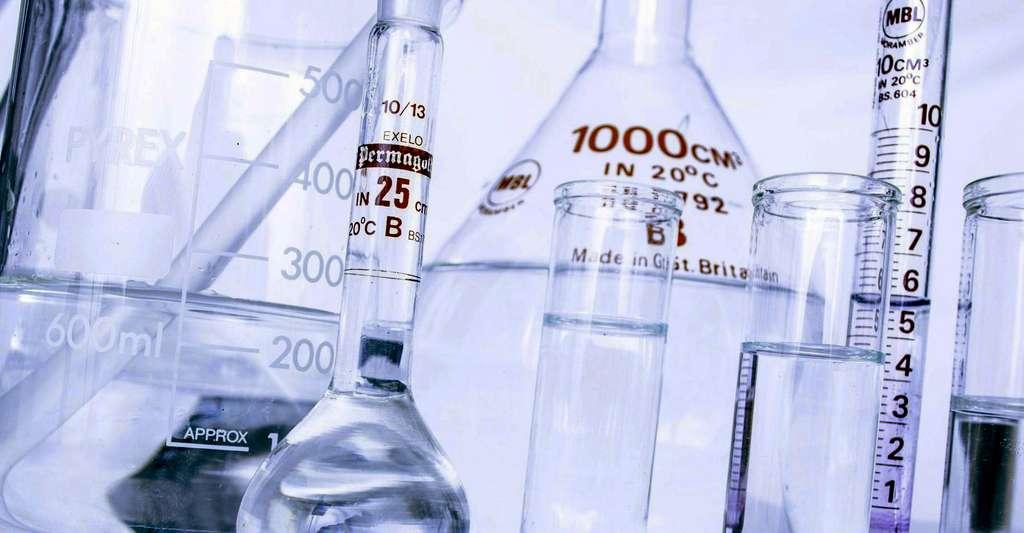 Expériences de chimie. © PublicDomainPictures