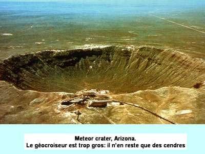 Les premières molécules organiques sur Terre sont-elles arrivées par les météorites ? © DR