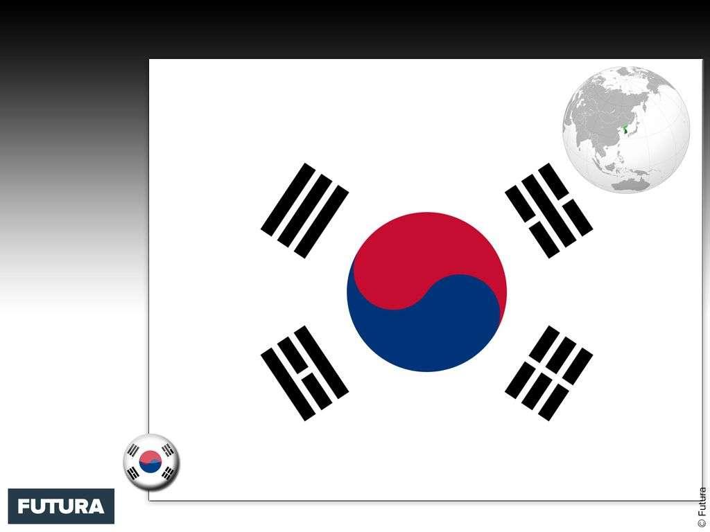 Drapeau : Corée du Sud