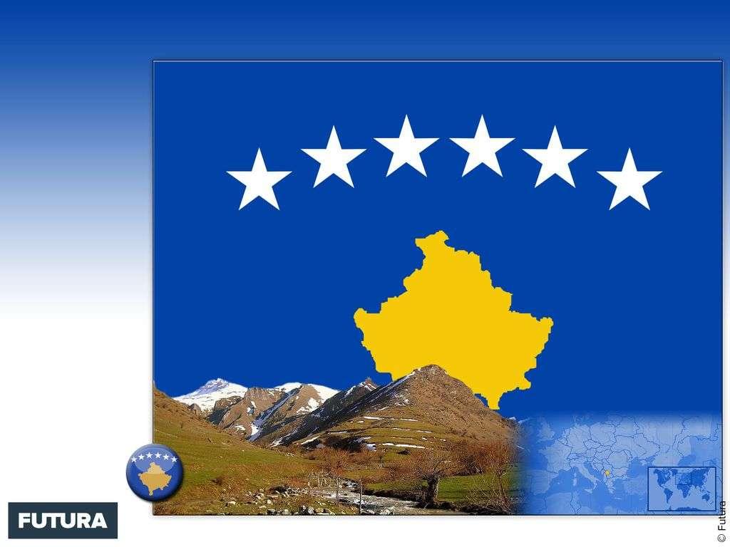 Drapeau : Kosovo