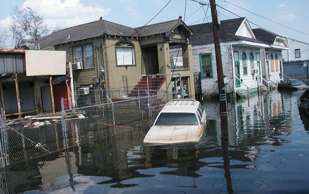 L'ouragan Katrina qui a frappé en août 2005 est réputé le plus meurtrier – on aurait décompté au moins 1.833 victimes – de l'histoire des États-Unis. © Nicoleon, Wikipedia, CC by-SA 4.0