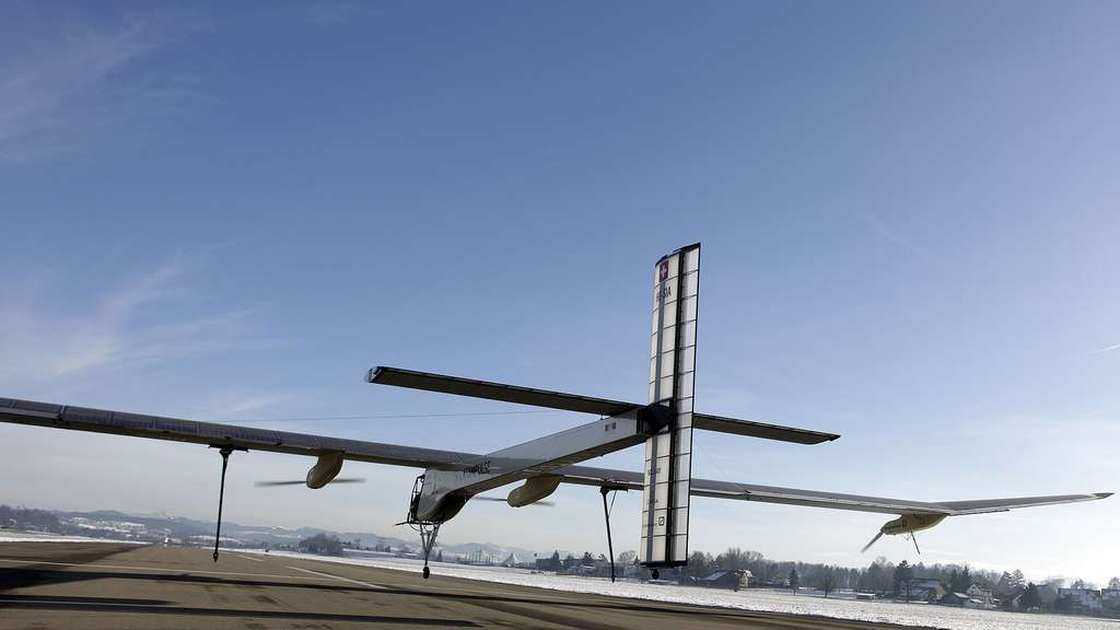 Solar Impulse, l'avion solaire qui veut faire le tour du monde