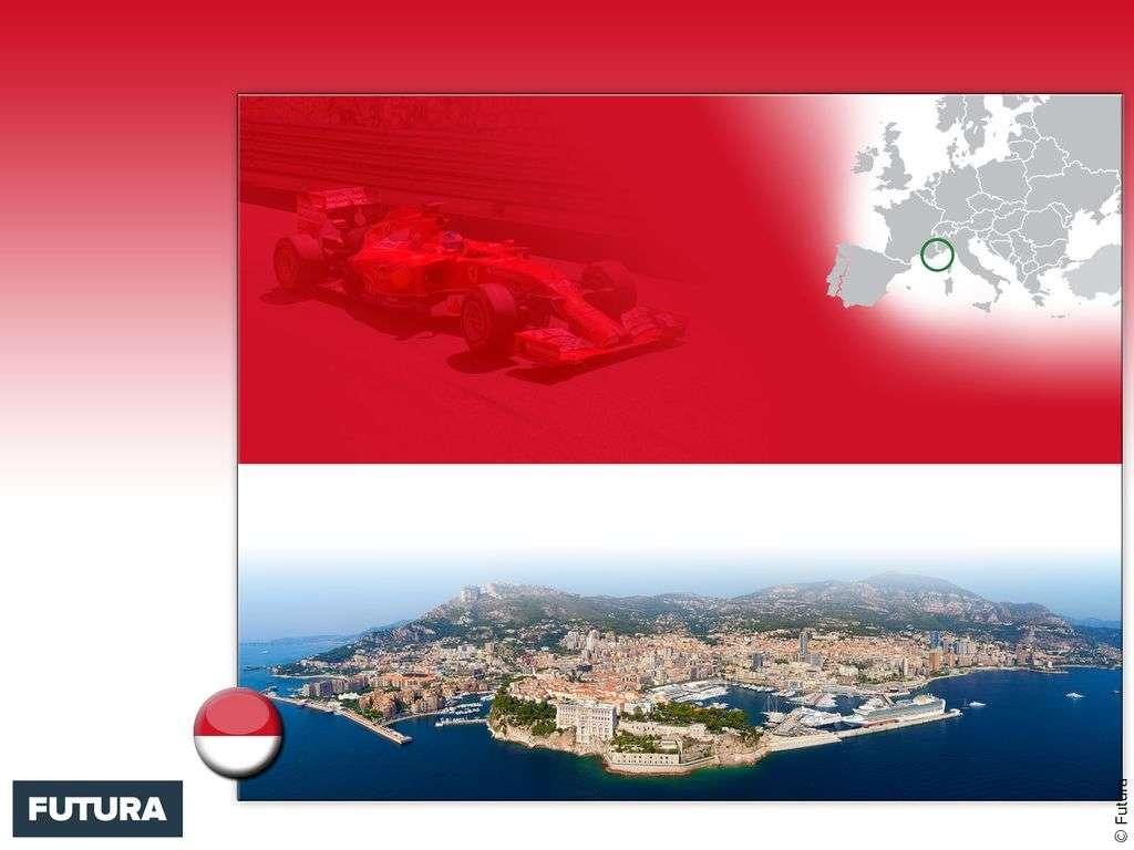 Drapeau : Monaco