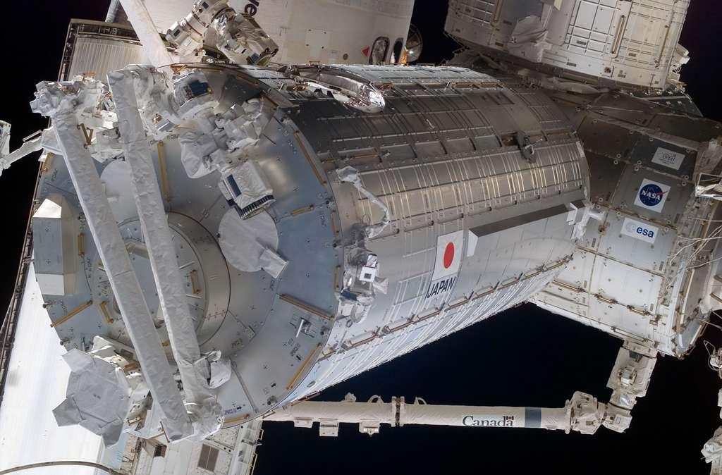 Juin 2008 : Installation et intégration du segment japonais de l'ISS