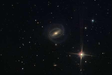 Cliquer pour agrandir. La galaxie NGC 266 dans la constellation des Poissons. Crédit : Gert Gottschalk et Sibylle Froehlich/Adam Block/NOAO/AURA/NSF