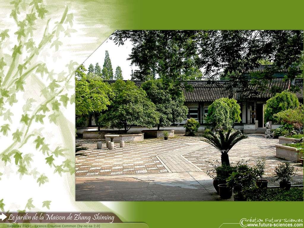 Jardin de la Maison Zhang Shimming