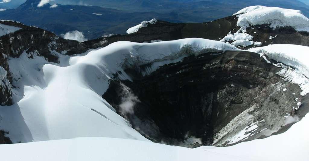 Cratère du Cotopaxi. © Samuel - CC BY-NC 2.0