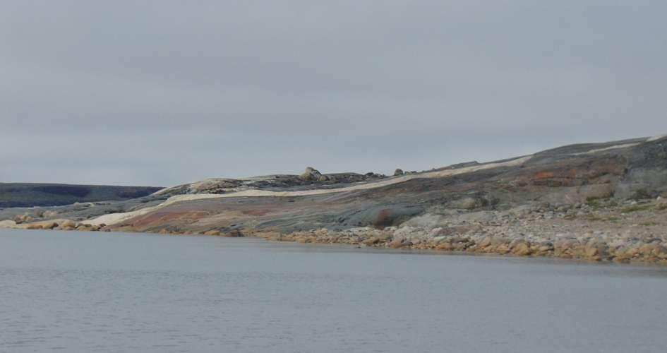 Une vue de la région du Nuvvuagittuq où les zircons ont été trouvés. © Elizabeth Bell