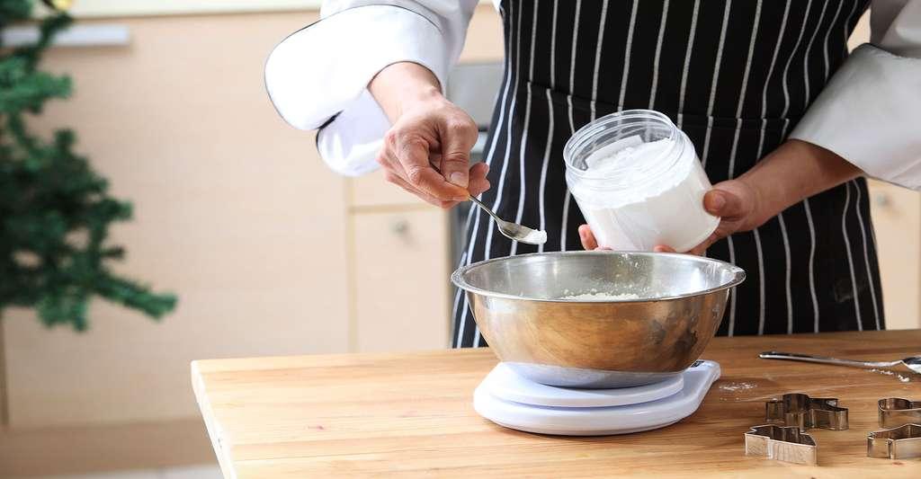 Expérience avec de la levure de boulanger. © Eskay Lim - Fotolia