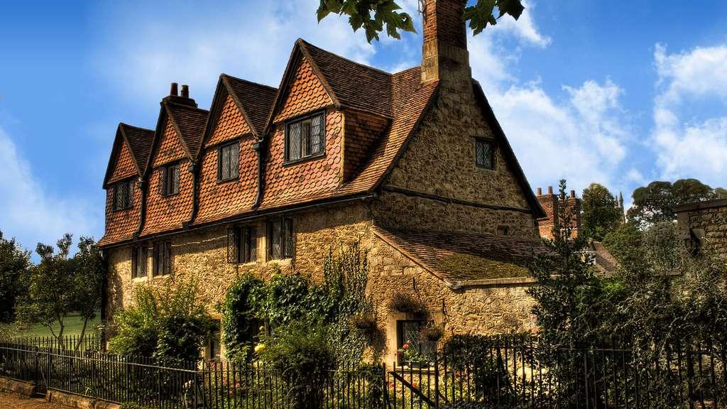 La maison en pierre à Oxford