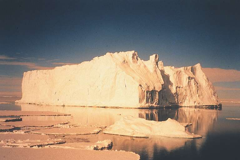 Iceberg de la Terre-Adélie