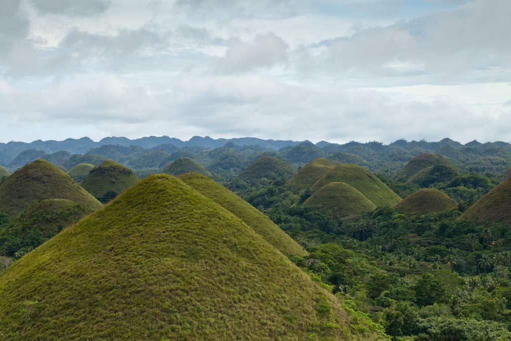 Les Chocolate Hills sont l'un des plus beaux paysages des Philippines. © Sergey Norin, Flickr