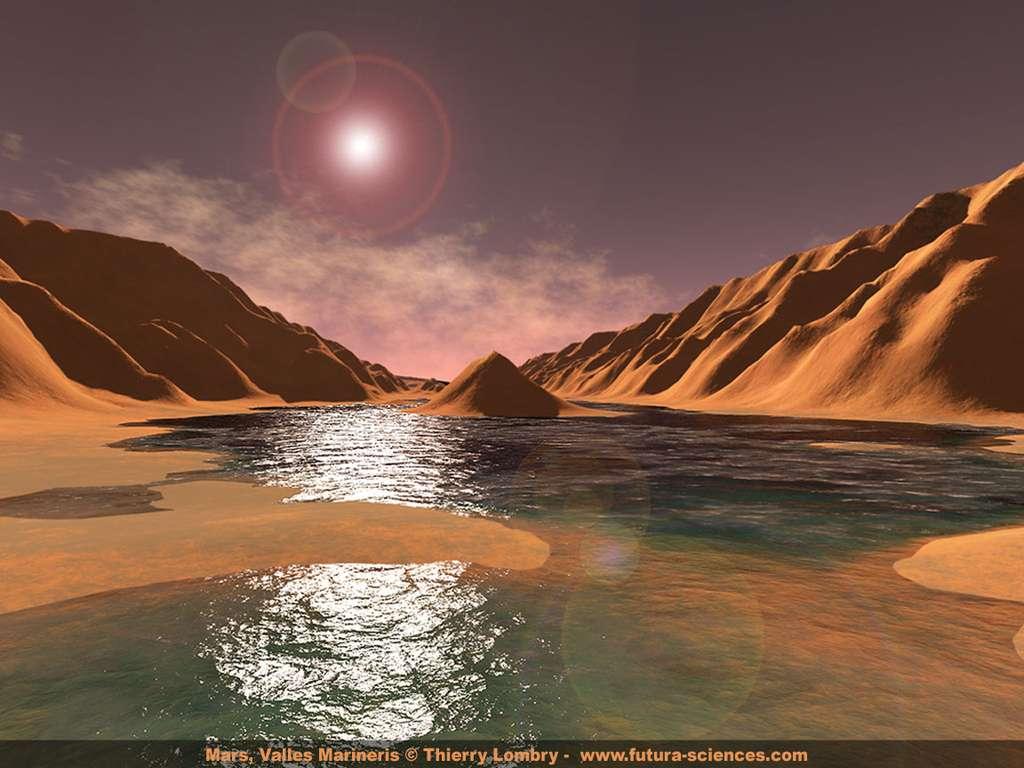Mars, valles marineris