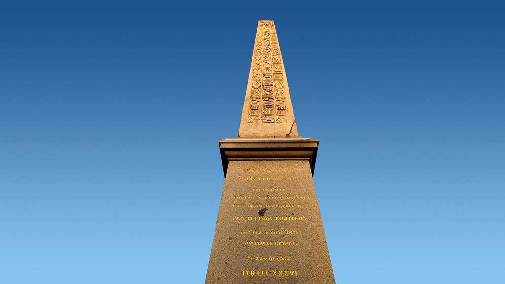 L'obélisque de la Concorde, un cadeau venu d'Égypte